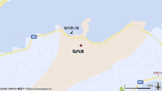 大分県佐伯市塩内浦154周辺の地図