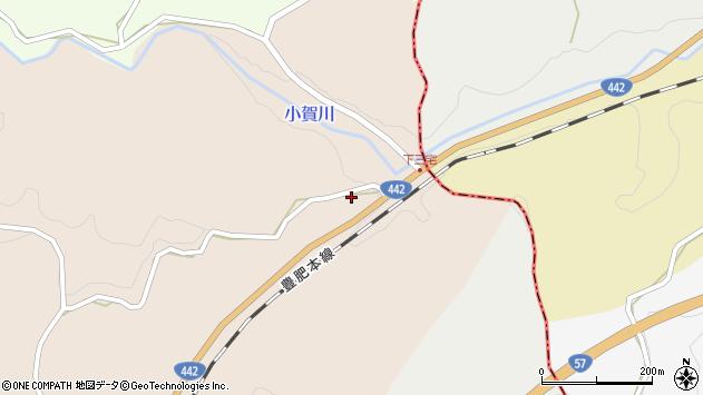 大分県竹田市三宅1027周辺の地図