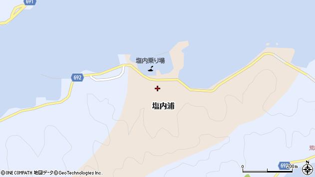 大分県佐伯市塩内浦118周辺の地図