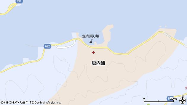 大分県佐伯市塩内浦112周辺の地図