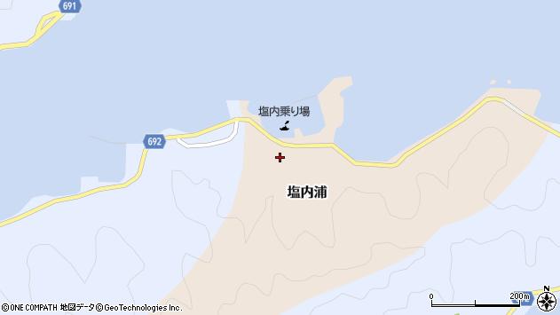 大分県佐伯市塩内浦103周辺の地図