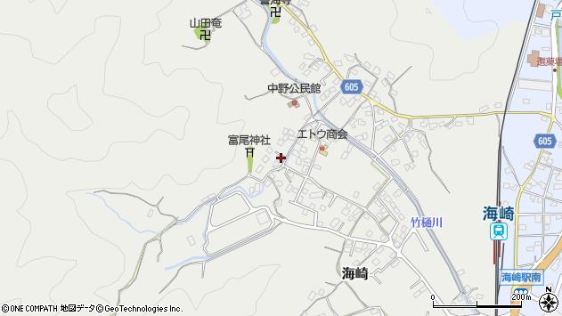 大分県佐伯市海崎2611周辺の地図