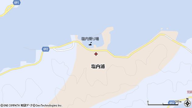 大分県佐伯市塩内浦136周辺の地図