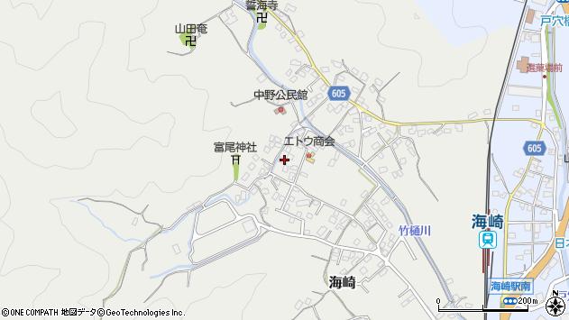 大分県佐伯市海崎2591周辺の地図