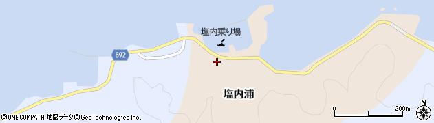 大分県佐伯市塩内浦104周辺の地図