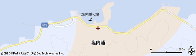大分県佐伯市塩内浦138周辺の地図