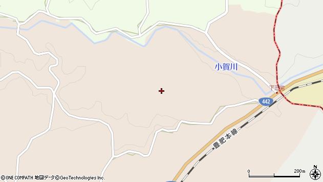 大分県竹田市三宅853周辺の地図