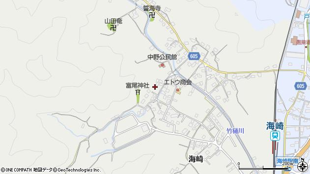 大分県佐伯市海崎2615周辺の地図