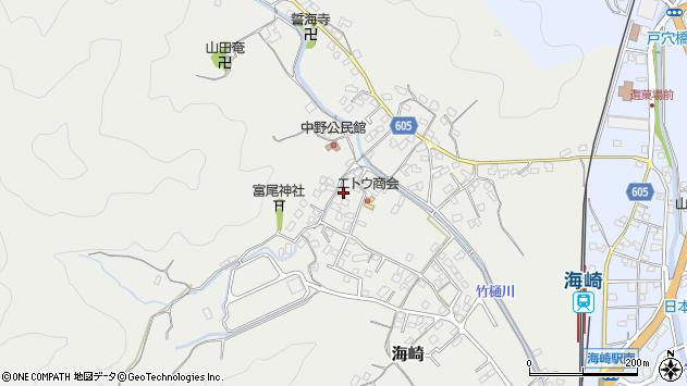 大分県佐伯市海崎2587周辺の地図