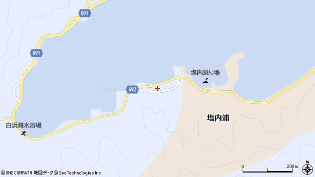 大分県佐伯市塩内浦261周辺の地図