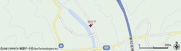 大分県佐伯市弥生大字床木1285周辺の地図