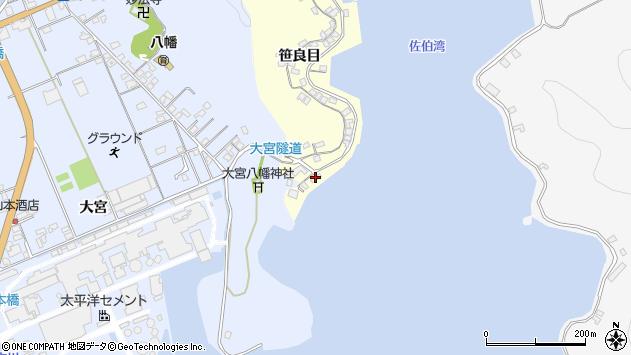 大分県佐伯市霞ケ浦139周辺の地図