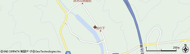 大分県佐伯市弥生大字床木1290周辺の地図