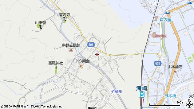 大分県佐伯市海崎3401周辺の地図