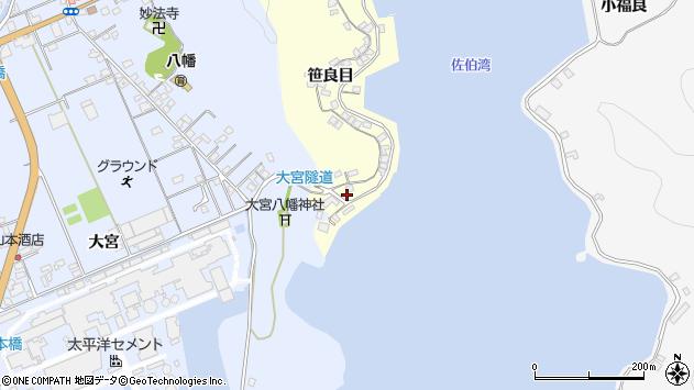 大分県佐伯市霞ケ浦142周辺の地図