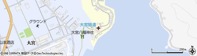 大分県佐伯市霞ケ浦143周辺の地図