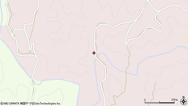 大分県竹田市枝997周辺の地図
