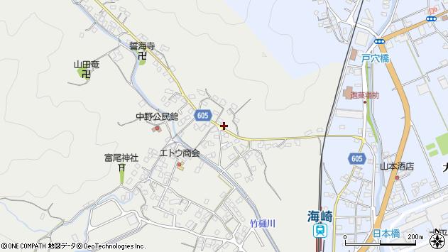 大分県佐伯市海崎3351周辺の地図