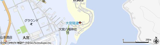 大分県佐伯市霞ケ浦152周辺の地図