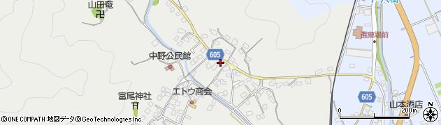 大分県佐伯市海崎3388周辺の地図