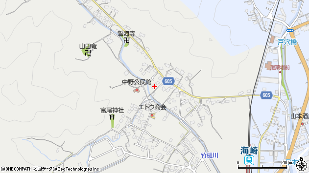 大分県佐伯市海崎3269周辺の地図