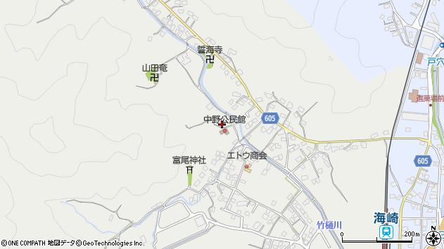 大分県佐伯市海崎2650周辺の地図
