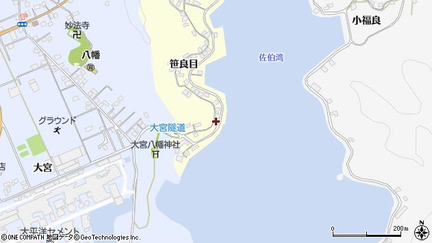 大分県佐伯市霞ケ浦159周辺の地図