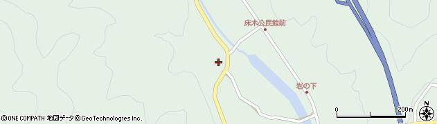 大分県佐伯市弥生大字床木2890周辺の地図