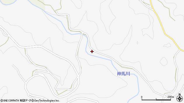 大分県竹田市古園257周辺の地図