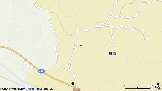 大分県竹田市城原666周辺の地図