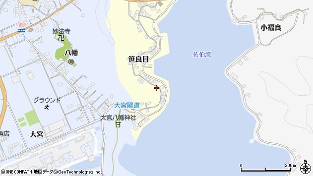 大分県佐伯市霞ケ浦170周辺の地図