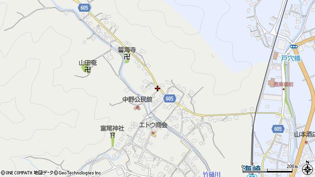 大分県佐伯市海崎3261周辺の地図