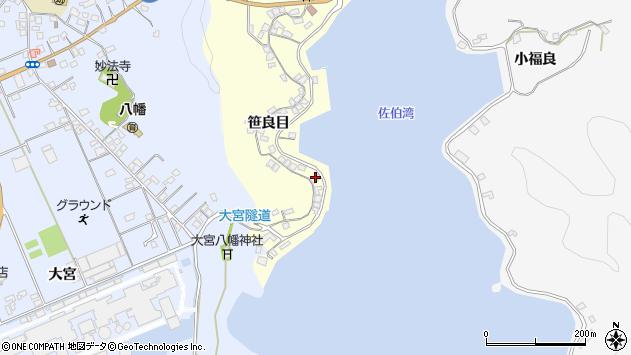 大分県佐伯市霞ケ浦172周辺の地図
