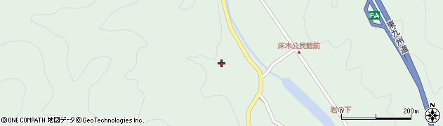 大分県佐伯市弥生大字床木2903周辺の地図