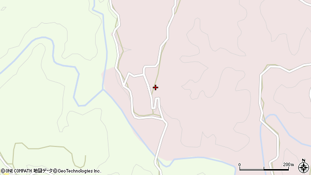 大分県竹田市枝378周辺の地図