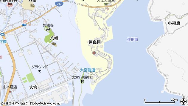 大分県佐伯市霞ケ浦192周辺の地図