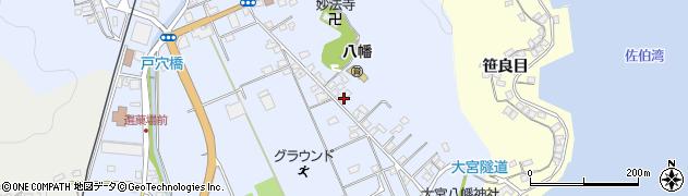 大分県佐伯市戸穴16周辺の地図