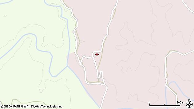 大分県竹田市枝532周辺の地図