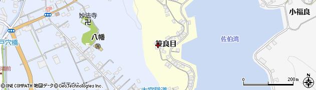 大分県佐伯市霞ケ浦209周辺の地図