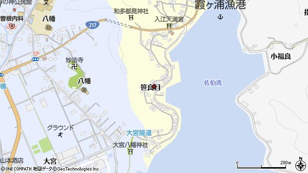 大分県佐伯市霞ケ浦214周辺の地図