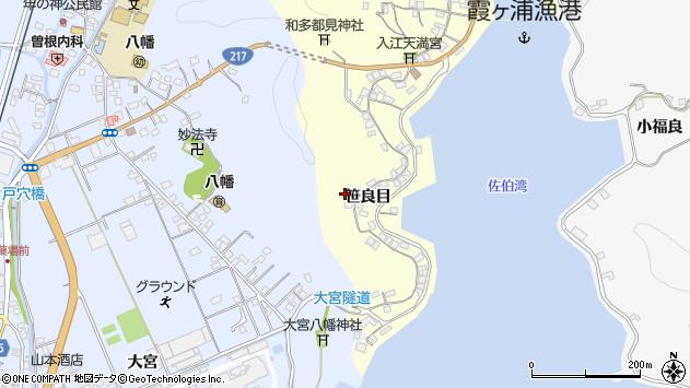 大分県佐伯市霞ケ浦210周辺の地図