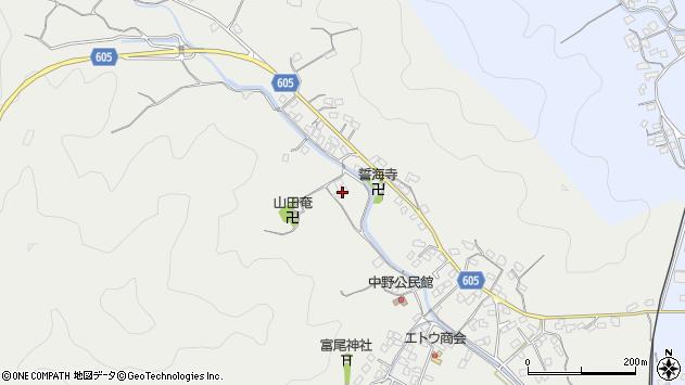 大分県佐伯市海崎2707周辺の地図