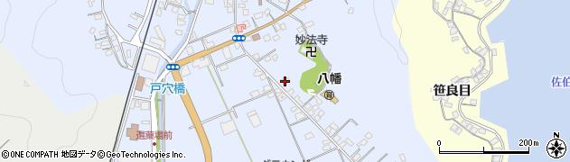 大分県佐伯市戸穴227周辺の地図