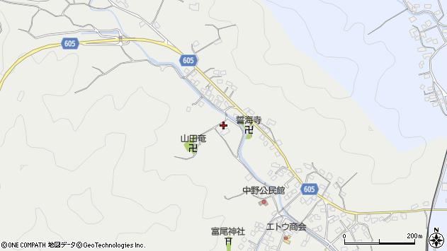 大分県佐伯市海崎2709周辺の地図
