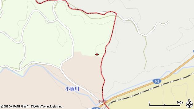 大分県竹田市中1672周辺の地図