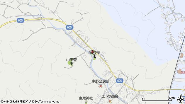 大分県佐伯市海崎3247周辺の地図