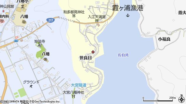 大分県佐伯市霞ケ浦230周辺の地図
