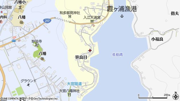 大分県佐伯市霞ケ浦234周辺の地図