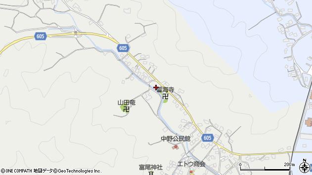 大分県佐伯市海崎3246周辺の地図