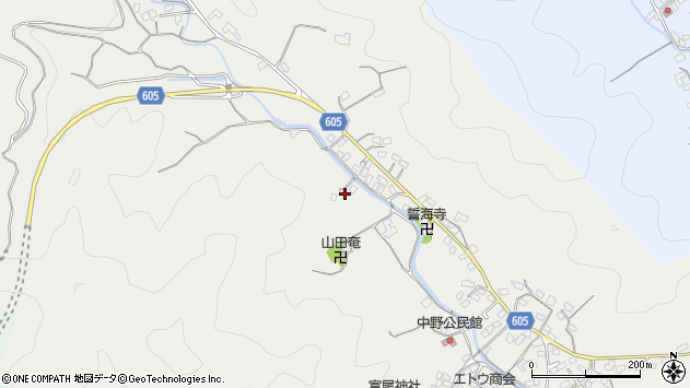 大分県佐伯市海崎2743周辺の地図
